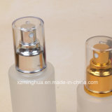 Frasco de vidro da loção do soro da geada