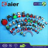 3 contactos impermeabilizan el interruptor de pulsador de 220 voltios (LAS3-16B-11)