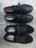 革女性の靴