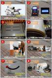 A3 A4 Größen-heißer doppelter Seiten-Rollenbeutel-Film-Selbstpapierführenmanuelle aufschlitzende kalte Laminiermaschine