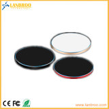 Портативные беспроводные быстрое зарядное устройство тонкий металлический блок для поддержки мобильных телефонов 10W/7,5 Вт/5 Вт
