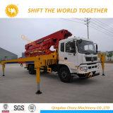 Sany 46mのトラックによって取付けられる具体的なポンプダンプトラック