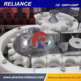 A dependência de máquina de embalagem de engarrafamento de líquidos de produtos farmacêuticos