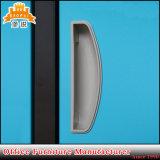 Cacifo moderno da escola do metal de 9 portas com fechamento de almofada