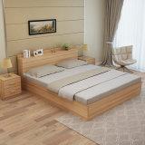 Heet Verkopend Goedkoop Modern Houten Bed