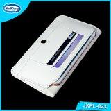 Кожаный бумажник мобильного телефона случая крышки Flip на iPhone 6 4.7inch