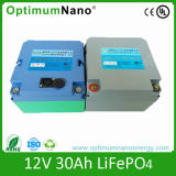 Batteria profonda 12V 30ah del ciclo LiFePO4 per l'indicatore luminoso di via solare