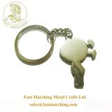 卸し売りカスタム個人化された純銀製刻まれた順序のギフト最初のKeychain