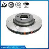 L'automobile de la machinerie de disques de frein d'usinage direct avec le service OEM