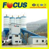 pianta d'ammucchiamento concreta stazionaria automatica di controllo del PLC 180m3/H
