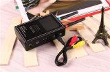 La caméra sans fil Hunter plein écran vidéo de la bande image du scanner détecteur multi Lentille de caméra sans fil pour la protection Anti-Spy Full-Range