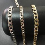 方法ドルのステンレス鋼の人の金の宝石類のネックレスの鎖