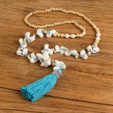 Boho parelde Juwelen van de Halsband van de Leeswijzer van de Parel van Juwelen lang de Houten