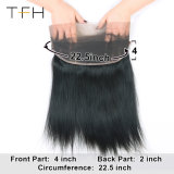 Top Fashion Hair Cor Natural de cabelo humano 360 Lace Cabeleiras Frontal 150% de densidade Virgem Reta brasileiro as rendas de cabelo Peruca Pré Depenados com cabelo do bebé
