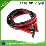 120 câble de fil électrique mou de cuivre des silicones des bandes 0.06mm 22AWG