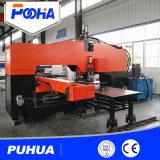 Preço hidráulico pesado especial da máquina de perfuração do CNC da placa de aço