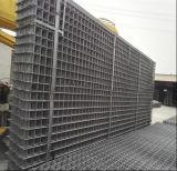 溶接された金網か変形させた棒鋼鉄網を補強する6X6コンクリート