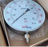 Pressão de aço Gauge-Stainless Diaphragmseal Pressão Pressure-Glycerine