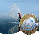 플라스틱 플라스틱 원반 (CTN301))를 가진 완성된 단청 나일론 졸라매는 끈 어업 던지기 그물