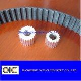 Cinghia di sincronizzazione dell'unità di elaborazione e puleggia cronometrante di alluminio