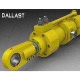 Промышленные Hydraulc цилиндр высокого давления с буртиком для экскаваторов