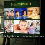 Outdoor Used Publicité LED Fabric Light Box Frame Tissu Tissu Light Box