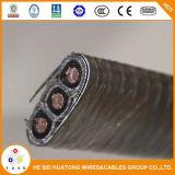Flachleiter-Leitungskabel-Hüllen-versenkbares Öl-Pumpen-Kabel