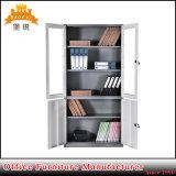 Gabinete de armazenamento da seção do metal dois do baixo preço