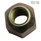 Usinage de précision en zinc plaqué hexagonale Vis et écrous