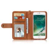 Оптовые цены на хорошее качество деловых подарков натуральная кожа iPhone7 крышки с держателя карты