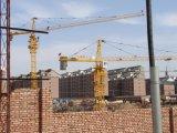 Angebotener hydraulischer anhebender Turmkran 8t Cer SGS-China Fabrik