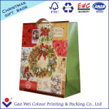La qualità personalizza il sacco di carta di Buon Natale per il regalo