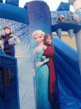 2016 Nouveau Design Frozen Jumping Bouncy Castle for Kids