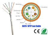 Cavo di lan resistente del blocco per grafici SFTP CAT6