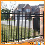 電流を通されたやりの上の装飾用の安全金属の塀