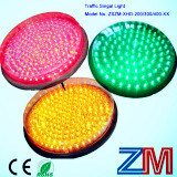 Module de clignotement rouge/ambre/plein bille DEL de vert de signalisation de feu