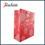Weihnachten passen billig gebildete verschiedene Größen Papierkleid-Beutel an