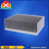 Dissipador de calor do amplificador de potência em liga de alumínio 6.063