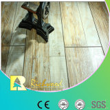 12.3mm Hand geriebener V-Grooved lamellierter Fußboden der Eichen-AC4
