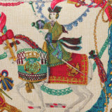 Coperchio decorativo 150g dell'ammortizzatore della stampa di tela spessa del cotone della cassa del cuscino di manovella
