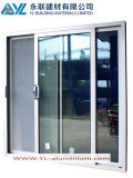Qualité Sliding Aluminum Door avec Large Double Glass
