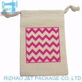 Tirer la chaîne de coton sac/sac de coton/sac d'emballage