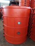 Bride H700X1000, couplage de réparation de pipe, bride de réparation de pipe de réparation de fuite de pipe pour la pipe de fer de moulage et la pipe malléable de fer, réparation rapide disjointe de pipe