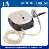 HS-M901k лак для ногтей - Комплект компрессора сердца Dual-Action Airbrush Spray 5 Дизайн трафаретные листов