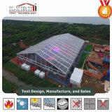tenda trasparente di cerimonia nuziale della tenda foranea di 20X65m per l'ospite 1000