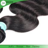 Отличное качество Бразильский орган человеческого волоса выровнены Cuticle кривой