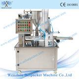Роторный тип автоматические завалка чашки воды и машина запечатывания