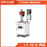 Máquina de soldadura 150W do laser da fibra do CCD dos componentes do bronze & do cobre