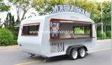 Rua personalizada do BBQ que Vending o carro móvel do alimento com probabilidade elegante