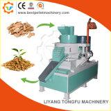 기계를 만드는 목제 펠릿 생산 과정 생물 자원 또는 밥 껍질 펠릿